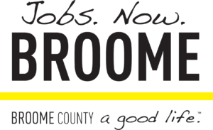 jobs now in broome county logo