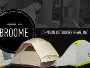 made in broome county - johnson outdoor gear